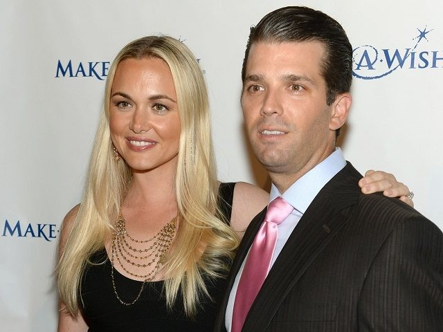 "NEW YORK, NY - JUNE 13: Vanessa Trump and Donald Trump Jr. attend ""An Evening of Wishes"", Make-A-Wish Metro New York's 30th Anniversary Gala at Cipriani, Wall Street on June 13, 2013 in New York City. (Photo by Dimitrios Kambouris/Getty Images for Make-A-Wish Metro New York)"
