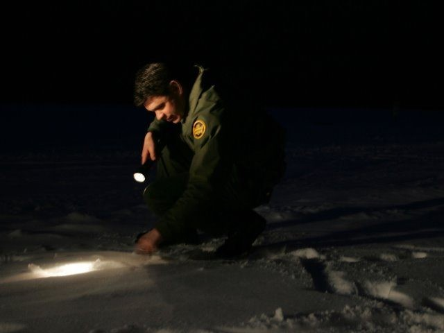 Border Patrol agent in New Hampshire.
