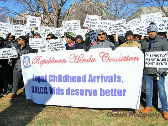 Republican Hindu Coalition rally