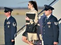 Hope Hicks, Air Force One