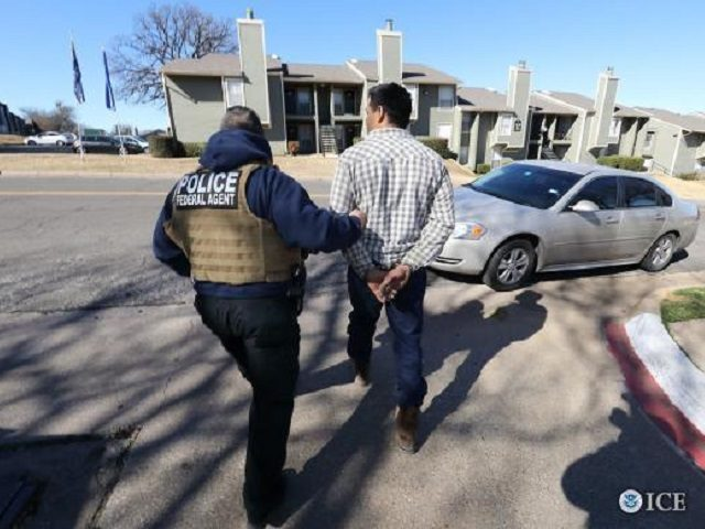 ICE enforcement in apartment complex