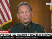 Broward County FL Sheriff Israel Responds to Parkland Shooting Critics: 'I've Given Amazing Leadership'