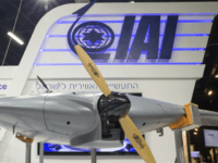 A 'Bird Eye-650' Long Endurance mini-UAV system developed by Israel Aerospace Industries (IAI) is displayed at the Unmanned Vehicles Conference 2015 on November 9, 2015, in the Israeli coastal city of Tel Aviv. AFP PHOTO / JACK GUEZ (Photo credit should read JACK GUEZ/AFP/Getty Images)