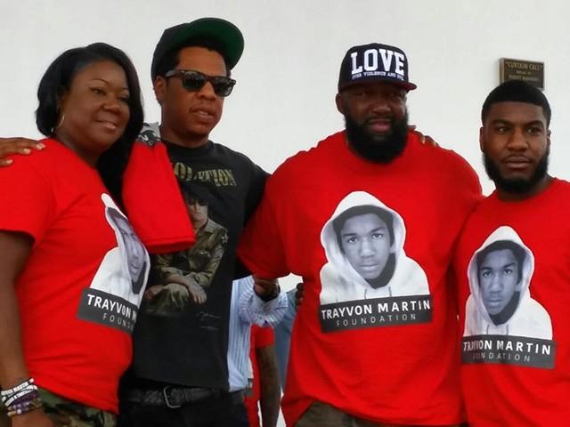 Jay-Z Honors 'Beacon of Light' Trayvon Martin at Miami Peace Walk