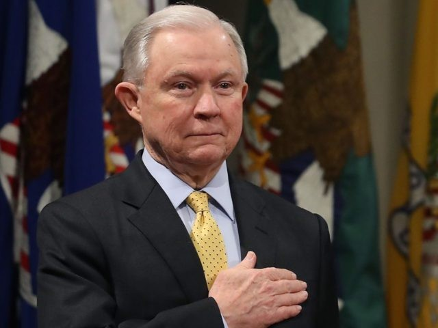 Jeff Sessions pledge (Mark Wilson / Getty)