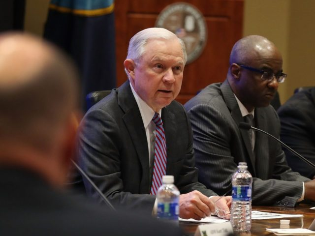 United States attorney Sessions warns Senate to prison sentencing reform