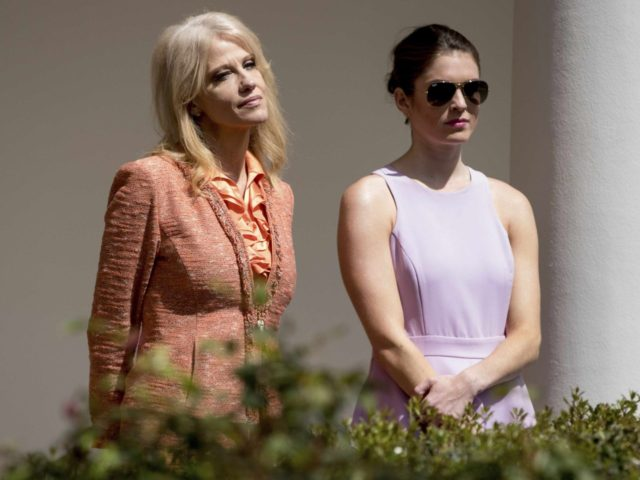 Kellyanne Conway and Hope Hicks (Andrew Harnik / Associated Press)