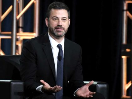 Tearful Jimmy Kimmel Calls Trump 'Mentally Ill,' Urges Viewers to Vote Out Pro-Second Amendment Congressmen
