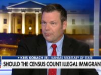 Kris Kobach: Democrats' 'Dirty Little Secret' Is Excluding Citizenship Question on U.S. Census