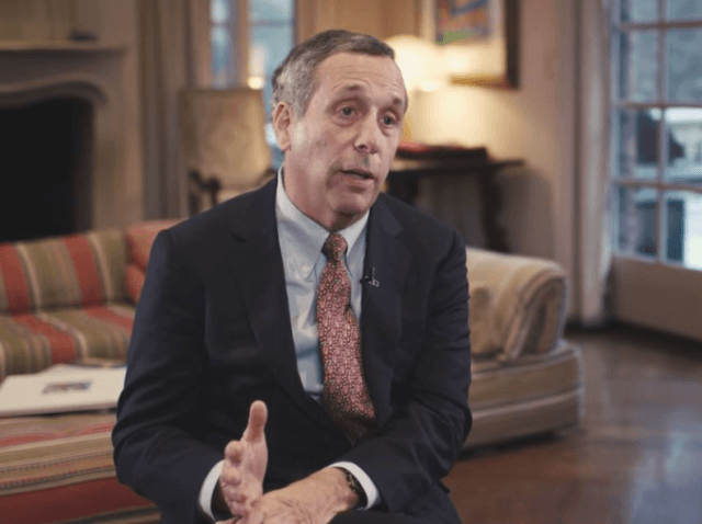 Incoming Harvard President Lawrence Bacow