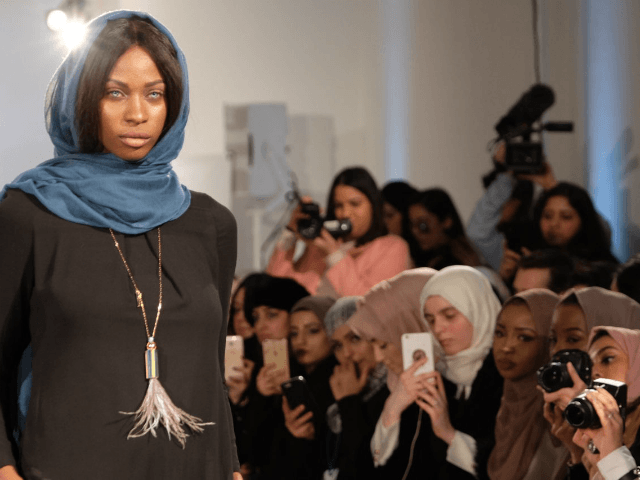 London's 'Modest' Fashion Show Celebrates Sharia-Compliant Clothing Weeks After Women Burn Hijabs in Iran