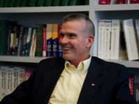 August 29: Matt Rosendale (R) Montana during an interview at Roll Call in Washington, D.C. (Photo By Douglas Graham/CQ Roll Call via Getty)