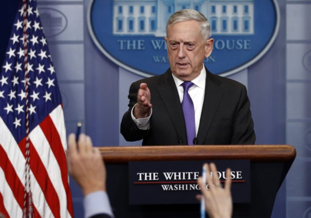 Defense Secretary Mattis defends new United States nuke strategy