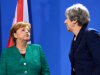 The British Deplorables? Merkel Says Germany 'Deplores' Brexit at Press Conference with Theresa May