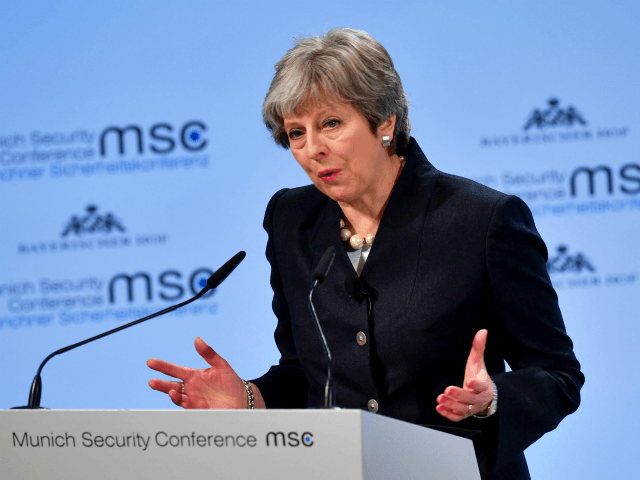 May pleads for post-Brexit security deal with EU