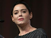 US actress Rose McGowan gives opening remarks to the audience at the Women's March / Women's Convention in Detroit, Michigan, on October 27, 2017. A stream of actress including Rose McGowan, models and ex-employees have come out, many anonymously, to accuse Hollywood producer Harvey Weinstein of sexual harassment and abuse …