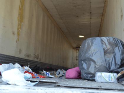 Migrants in Trailer