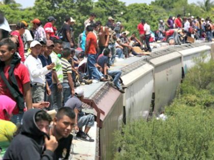 Migrants ride La Bestia