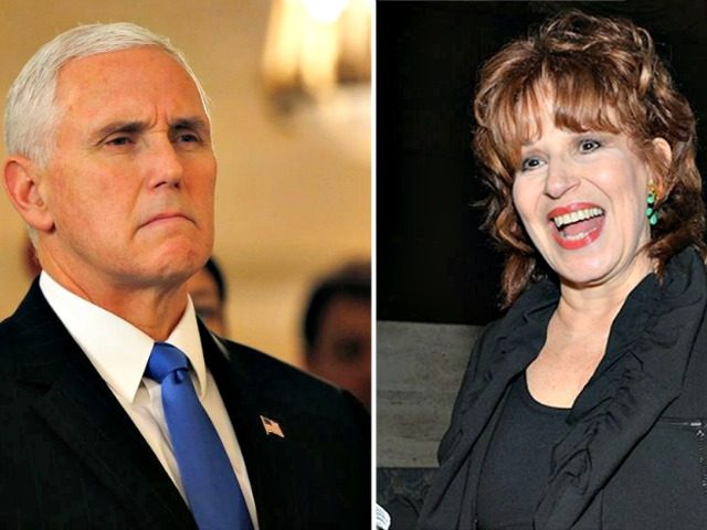 Mike Pence, Joy Behar