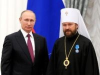 "In a curious role reversal, a leading prelate of the Russian Orthodox Church has accused the United States of ""direct interference"" in Russia's elections by circulating the so-called ""Kremlin list"" prepared by the U.S. Treasury Department."