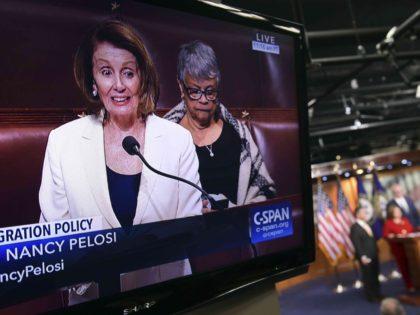Nancy Pelosi filibuster (Susan Walsh / Associated Press)