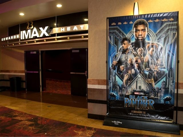 IMAX, Regal Entertainment Group, Walt Disney Picture and Marvel Studios hosted an advanced IMAX screening of 'Black Panther' for the Boys & Girls Club of Greater Houston at Edwards Houston Marq'e Stadium 23 & IMAX on February 15, 2018 in Houston, Texas. (Photo by Bob Levey/Getty Images for IMAX)