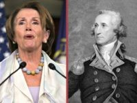 Pelosi and George Washington