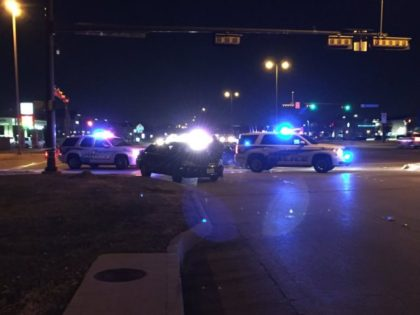 Richardson Police Shooting Scene