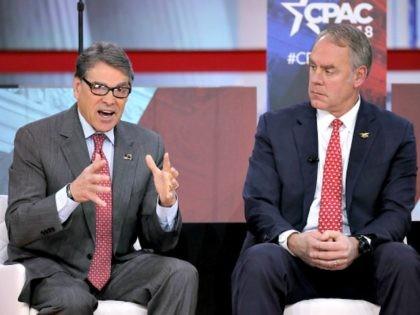 Rick Perry, Ryan Zinke CPAC