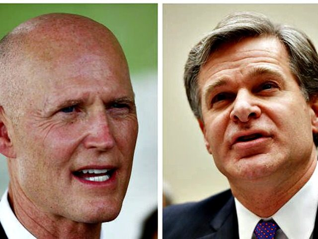 Florida Gov. Scott calls on FBI director to resign