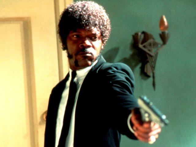 Samuel L. Jackson in Pulp Fiction ( Miramax,1994)