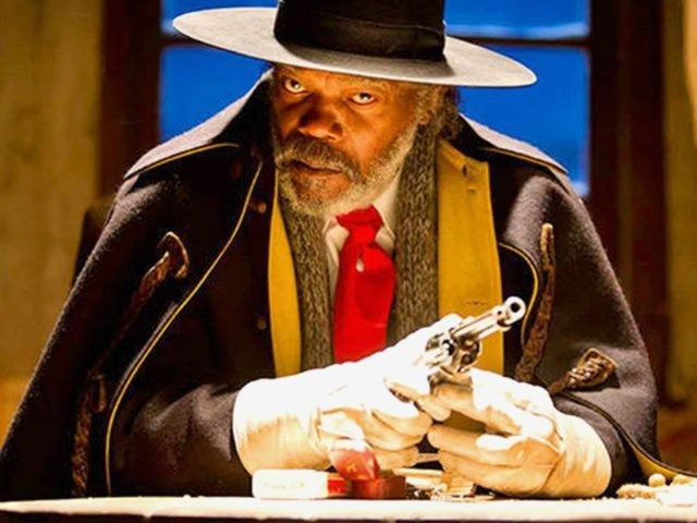 Samuel L. Jackson in The Hateful Eight ( Visiona Romantica, 2015)