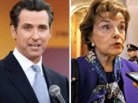 Newsom and Feinstein (Wires)