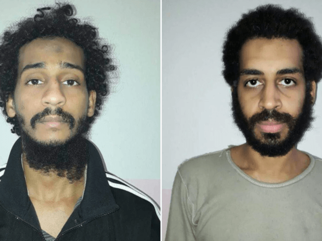 El Shafee Elsheikh (left) and Alexanda Kotey are alleged to have been part of an Isis murder squad nicknamed 'the Beatles' by captives.