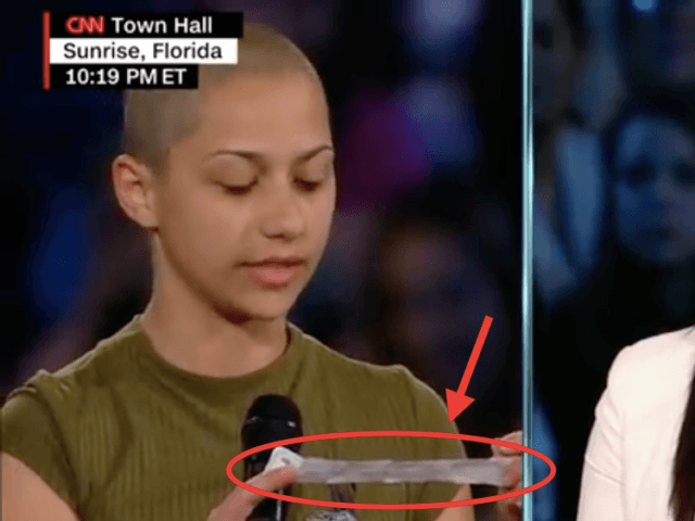 Emma Gonzalez CNN town hall (Screenshot / YouTube)