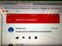 Screen Shot Cruz YouTube Comment