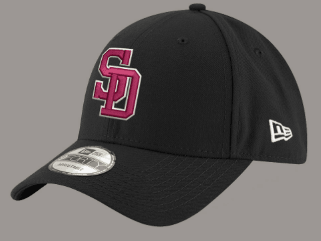 79fdd37ea10 Major League Baseball has released the design of its official ball caps  commemorating the victims of last week s shooting at Marjory Stoneman  Douglas High ...