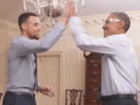 Screenshot Steph and Obama