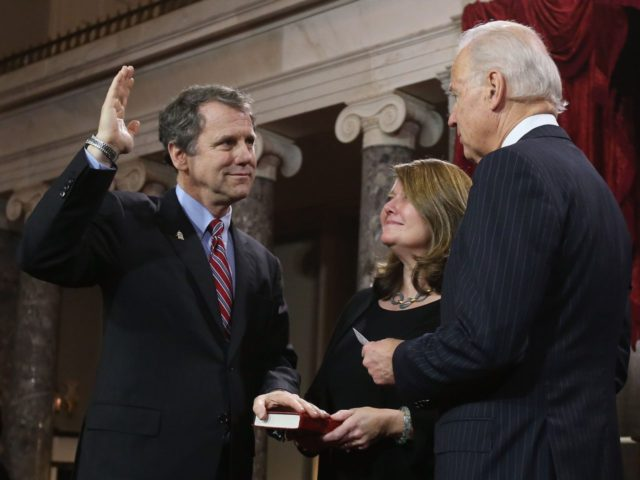 Sherrod Brown and Joe Biden (Chip Somodevilla / Getty)
