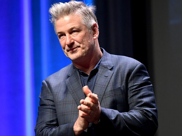 SANTA BARBARA, CA - JANUARY 31: Alec Baldwin speaks onstage at the Opening Night Film 'The Public' Presented by Belvedere Vodka during the 33rd Santa Barbara International Film Festival at Arlington Theatre on January 31, 2018 in Santa Barbara, California. (Photo by Matt Winkelmeyer/Getty Images for SBIFF)