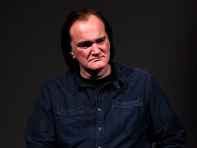 PARK CITY, UT - JANUARY 27: Director Quentin Tarantino speaks at the 'Reservoir Dogs' 25th Anniversary Screening during the 2017 Sundance Film Festival at Eccles Center Theatre on January 27, 2017 in Park City, Utah. (Photo by Nicholas Hunt/Getty Images for Sundance Film Festival)