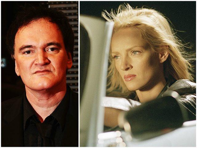 Tarantino Thurman Car Crash Getty/Miramax