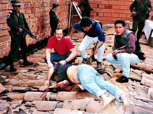 Dead Drug Trafficker Pable Escobar