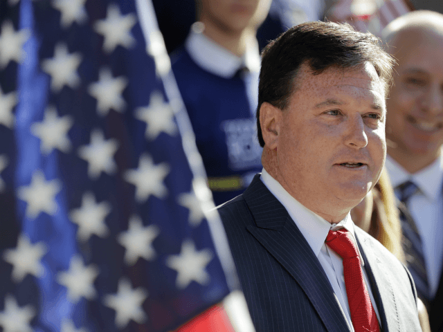 Indiana Rep. Todd Rokita speaks during a news conference outside of the Indiana Statehouse in Indianapolis. Working for Rokita is an exacting job with long hours, made more difficult by a boss known for micromanaging and yelling at his staff, according to 10 former aides who spoke to The Associated …