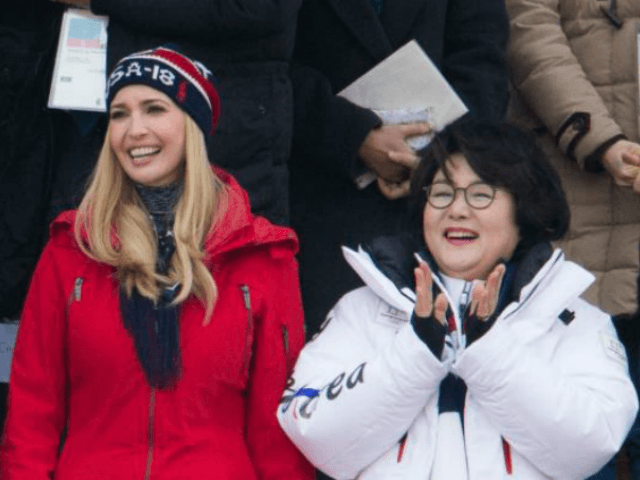 Ivanka in PyeonChang for Olympics closing