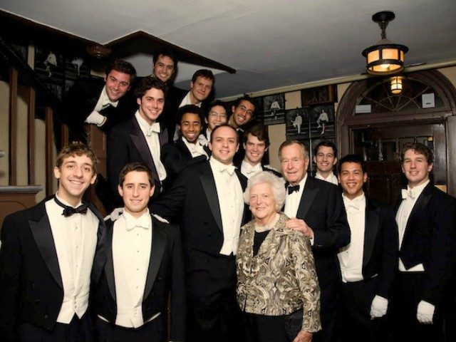 Yale's all-male Whiffenpoofs singing group