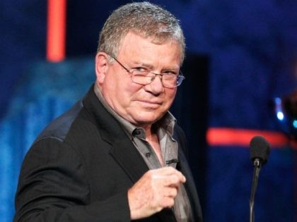 Actor William Shatner speaks onstage at Comedy Central's Roast of Charlie Sheen held at Sony Studios on September 10, 2011 in Los Angeles, California. (Photo by Christopher Polk/Getty Images)