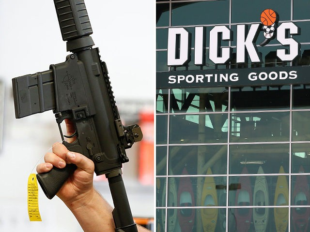 "DICK's Sporting Goods announced their decision to stop selling all ""assault-style"" weapons in their stores and banning sales to anyone under 21."