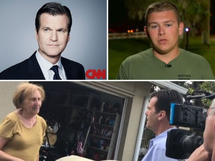 """CNN correspondent Drew Griffin, of the network's """"Special Investigations Unit."""" Griffin is under fire for calling a school shooting survivor a liar and ambushing an elderly woman at her home, directing abusive trolls to harass her on Facebook."""