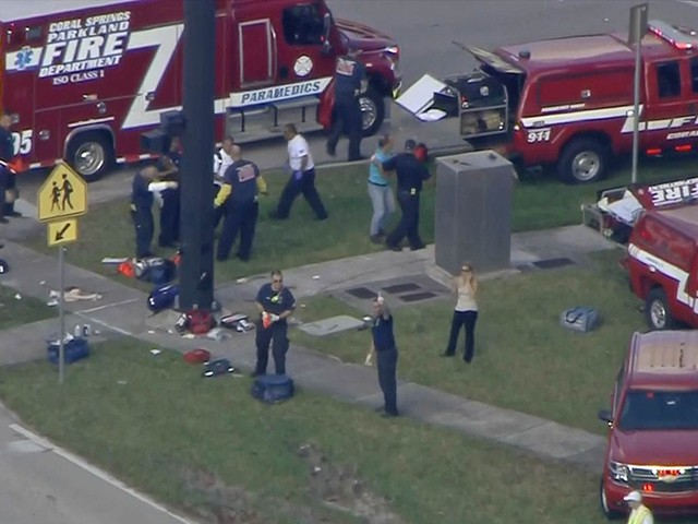 Fact Check: Pro-Gun Control Liberals Spread Misleading Claim of 18 School Shootings so Far in 2018 - Breitbart